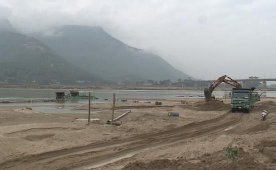 Quảng Nam: Nạn khai thác cát trái phép tái diễn