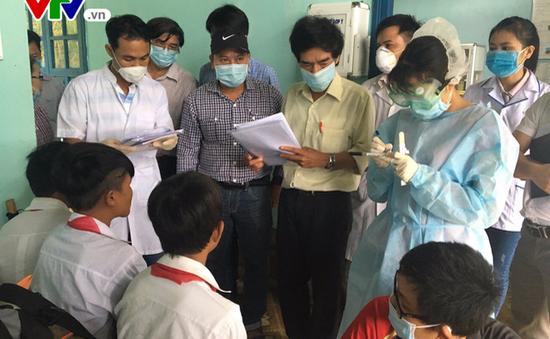 Quảng Nam: Khoanh vùng, cách ly xử lý ổ bệnh bạch hầu