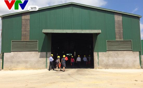 Nhà máy xử lý rác thải đầu tiên của Bình Thuận đi vào hoạt động