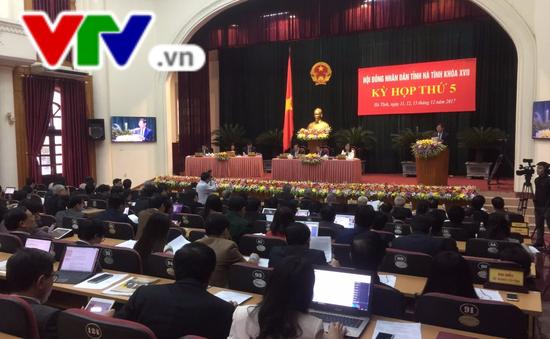 Khai mạc kỳ họp thứ 5 HĐND tỉnh Hà Tĩnh khóa XVII