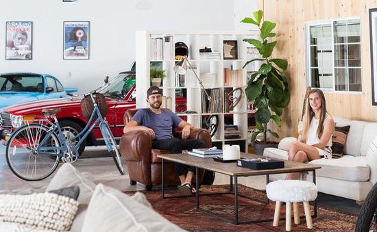 """Độc đáo garage được """"hô biến"""" thành nhà ở siêu đẹp"""