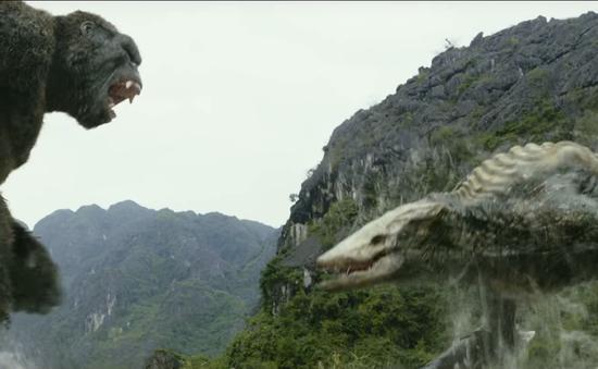 """Đầm Vân Long hiện lên hùng vĩ trong """"bom tấn"""" Kong: Skull Island"""