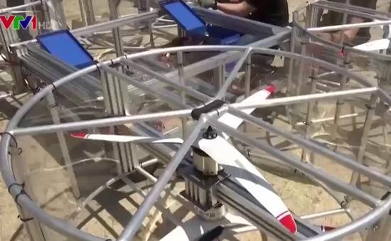 Hình ảnh đầu tiên về thử nghiệm xe bay của Toyota