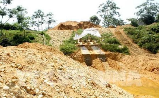 Vĩnh Phúc: Phê duyệt khu vực cấm và tạm thời cấm hoạt động khoáng sản