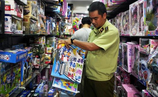 Thu giữ gần 600 bộ đồ chơi trẻ em không rõ nguồn gốc