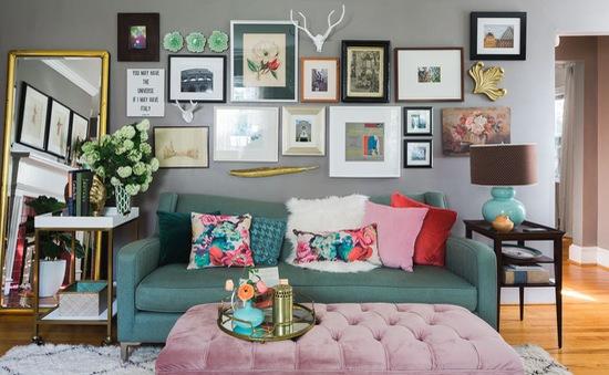 """Đưa """"rừng"""" hoa vào nhà bằng các vật dụng mang họa tiết floral"""