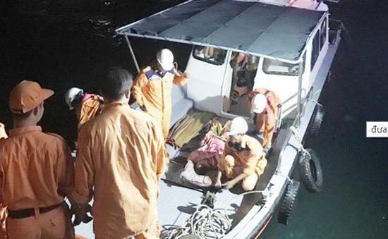 Cứu nạn thuyền viên gặp nạn tại Trường Sa