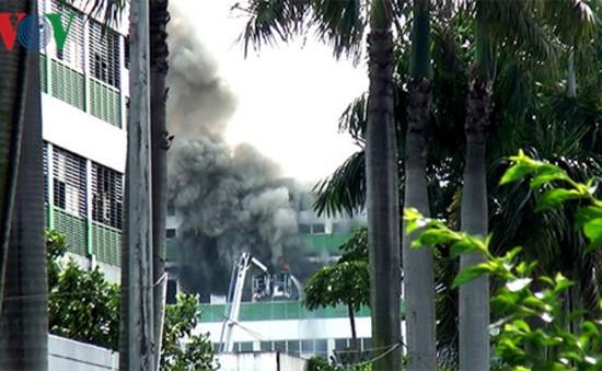 Cháy lớn tại công ty Pou Yuen