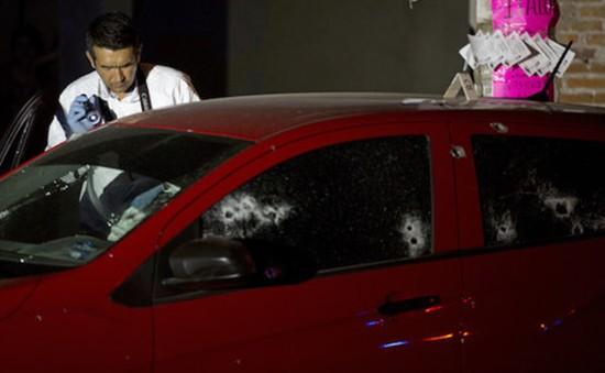 Đấu súng giữa cảnh sát và tội phạm ở Mexico, 19 người thiệt mạng