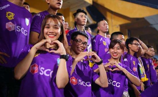 CLB Hà Nội chào đón người hâm mộ trở lại sân Hàng Đẫy với diện mạo hoàn toàn mới