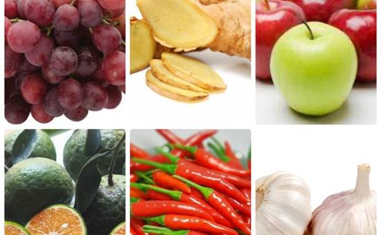 6 loại củ quả giúp giảm đau nhanh chóng