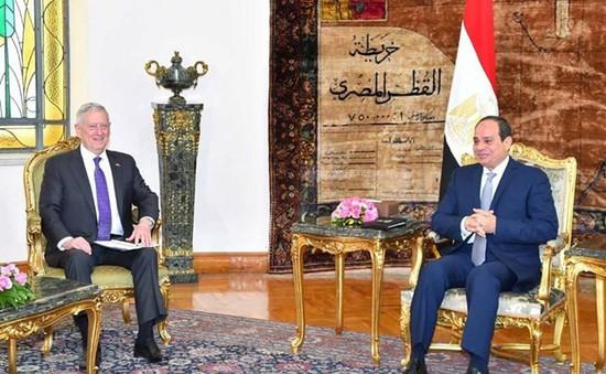 Ai Cập và Mỹ hợp tác chống khủng bố
