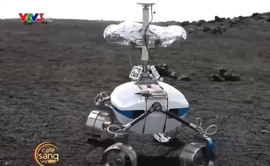 Đưa robot do thám miệng núi lửa hoạt động mạnh nhất châu Âu