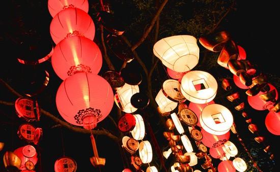 Lễ hội đèn lồng kỷ niệm ngày lễ Tình nhân ở Trung Quốc