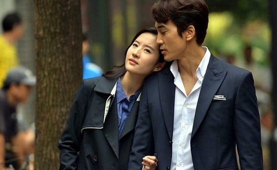 Song Seung Heon thích đóng nhất với bạn gái Lưu Diệc Phi
