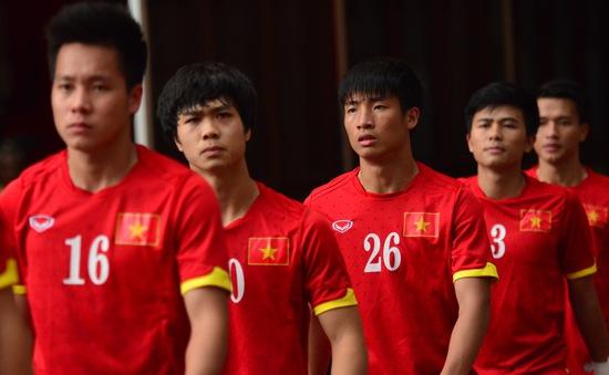 HLV Nguyễn Hữu Thắng công bố danh sách ĐT U23 Việt Nam đá trận khai xuân với U23 Malaysia