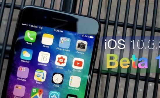 Apple trình làng phiên bản iOS 10.3.3 beta, hé lộ sự xuất hiện của iPad Pro mới