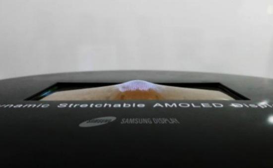 Không chỉ uốn dẻo, màn hình OLED mới còn có khả năng co dãn
