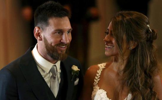 Messi ủng hộ thức ăn thừa sau lễ cưới cho quỹ từ thiện ở quê nhà