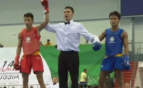 Vũ Minh Đức giành HCV giải Wushu thế giới