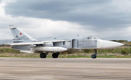 Máy bay ném bom Su-24 của Nga gặp nạn tại Syria