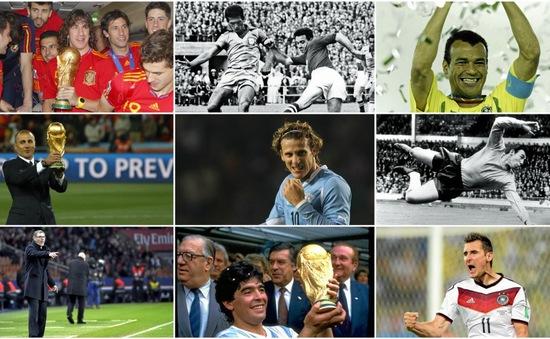 Những ngôi sao hàng đầu sẽ tham gia bốc thăm chia bảng World Cup 2018