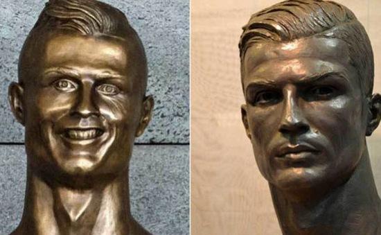 Ronaldo đã có tượng mới đẹp hơn nhiều thảm họa ở quê nhà