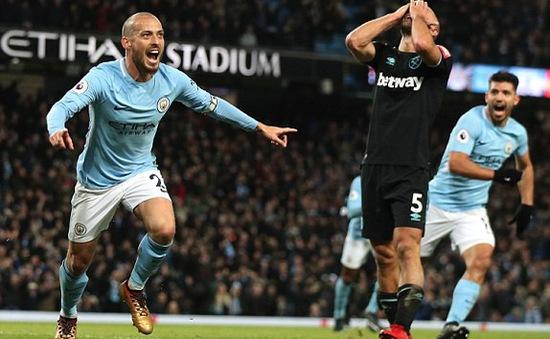 Manchester City 2-1 West Ham United: Củng cố vững chắc ngôi đầu!