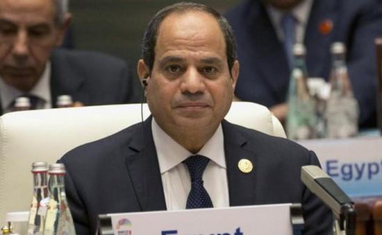 Ai Cập: Tổng thống El-Sisi được đề nghị ra tranh cử nhiệm kỳ 2