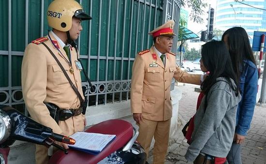 Cảnh sát 141 Hà Nội được trang bị camera siêu nhỏ có thể ghi hình hồng ngoại