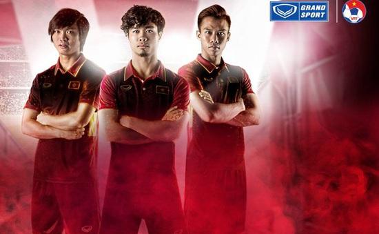 Cận cảnh áo đấu mới của ĐT Việt Nam được ra mắt ở trận gặp Đài Bắc Trung Hoa