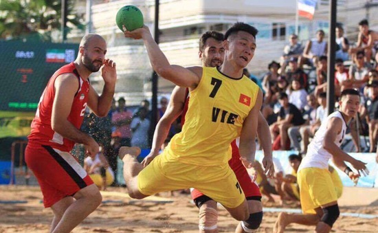 Bóng ném bãi biển Việt Nam giành quyền tham dự giải VĐTG