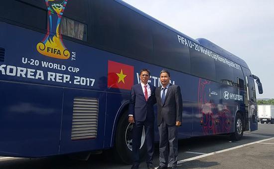ĐT U20 Việt Nam đã đến nơi đóng quân tại VCK U20 World Cup 2017