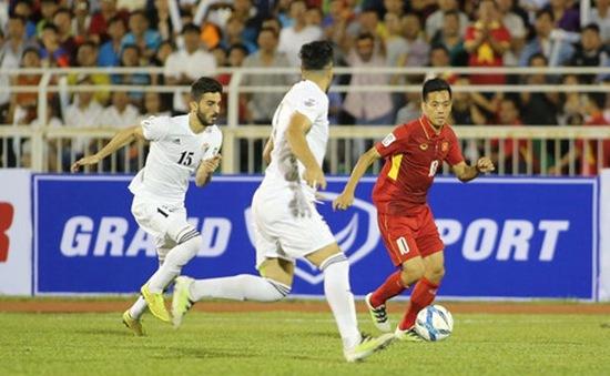 VIDEO: Những diễn biến chính trong trận đấu ĐT Việt Nam 0-0 ĐT Jordan