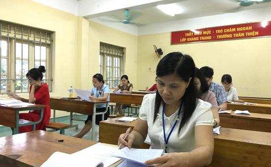 Kết thúc đợt 1 kỳ thi tốt nghiệp THPT, các hội đồng tiến hành chấm thi ngay