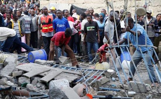 Sập chung cư 7 tầng ở Kenya, hàng chục người mất tích