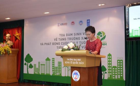 """Sinh viên cả nước tham gia đóng góp ý tưởng """"Phát triển bền vững"""""""