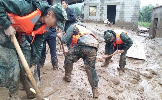 Lở đất tại Trung Quốc, hàng chục người mất tích