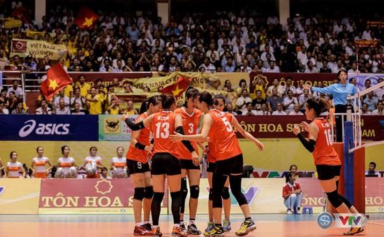 Hôm nay (9/8), ĐT bóng chuyền nữ Việt Nam ra quân tại giải Cúp bóng chuyền nữ châu Á 2017