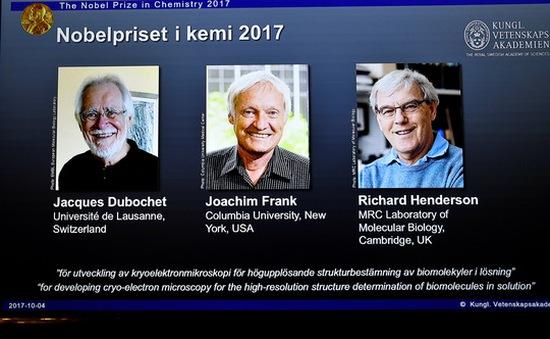Nobel Hóa học 2017 đã có chủ
