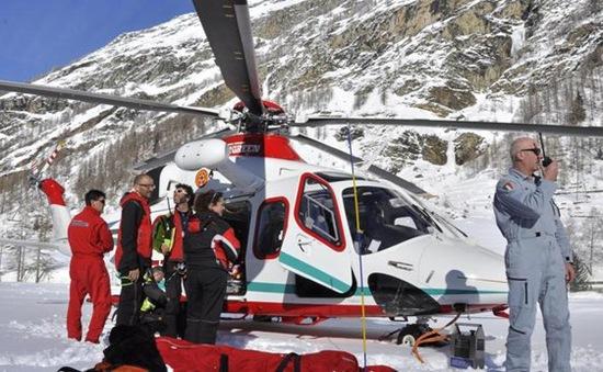 Lở tuyết ở Italy, 3 người thiệt mạng