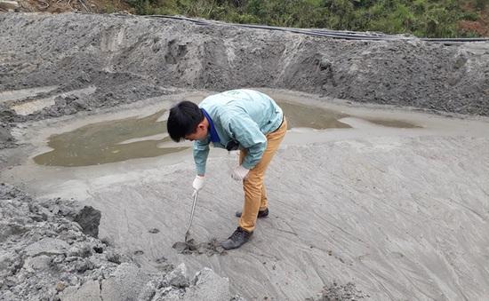 Bộ TN-MT lập biên bản xử lý vụ vỡ đập chứa bùn thải ở Nghệ An