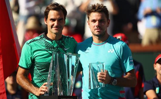 Vô địch Indian Wells, Federer tăng 4 bậc trên BXH ATP