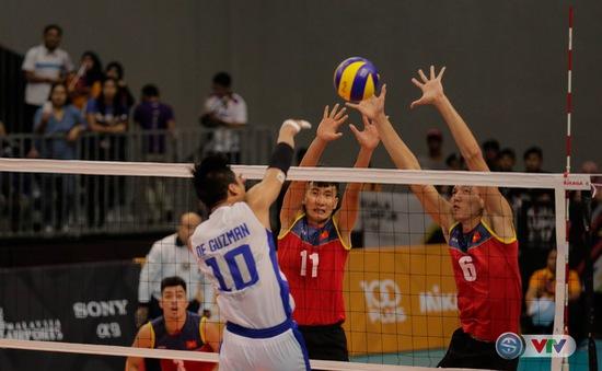 Đài THVN ghi hình trực tiếp thi đấu bóng chuyền nam và nữ tại SEA Games 29
