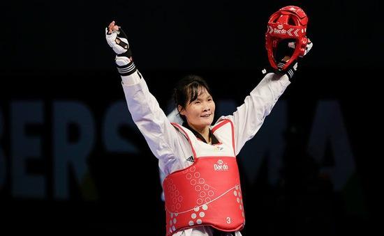 VIDEO SEA Games 29: Hà Thị Nguyên giành HCV Taekwondo dưới 62kg nữ