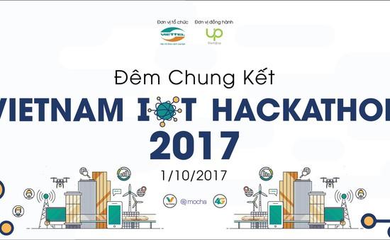 Đã tìm ra 18 đội lọt vào vòng chung kết Vietnam IOT Hackathon 2017