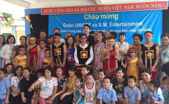 Quỹ nhi đồng Liên hợp quốc trao thiết bị dạy và học nhạc cho trẻ em khuyết tật tại Đà Nẵng