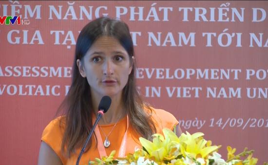 Việt Nam có tiềm năng lớn về điện mặt trời