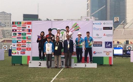 Bắn cung Việt Nam giành HCĐ tại giải VĐ châu Á 2017