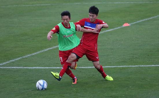 U23 Việt Nam tập nhẹ trong buổi tập trung đầu tiên cùng HLV Park Hang Seo
